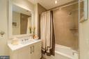 Guest Full Bath. - 601 N FAIRFAX ST #304, ALEXANDRIA