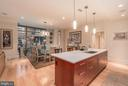 Generous Kitchen Island - 601 N FAIRFAX ST #304, ALEXANDRIA