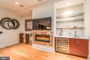 Wet Bar and extra beverage refrigerator! - 601 N FAIRFAX ST #304, ALEXANDRIA