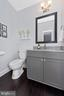 First floor powder room - 7937 YELLOW SPRINGS RD, FREDERICK