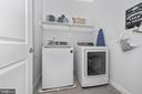 Upper level laundry room - 7937 YELLOW SPRINGS RD, FREDERICK