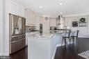 Gorgeous chef's kitchen - 7937 YELLOW SPRINGS RD, FREDERICK