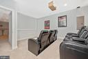 Movie room or play room....get creative! - 7937 YELLOW SPRINGS RD, FREDERICK