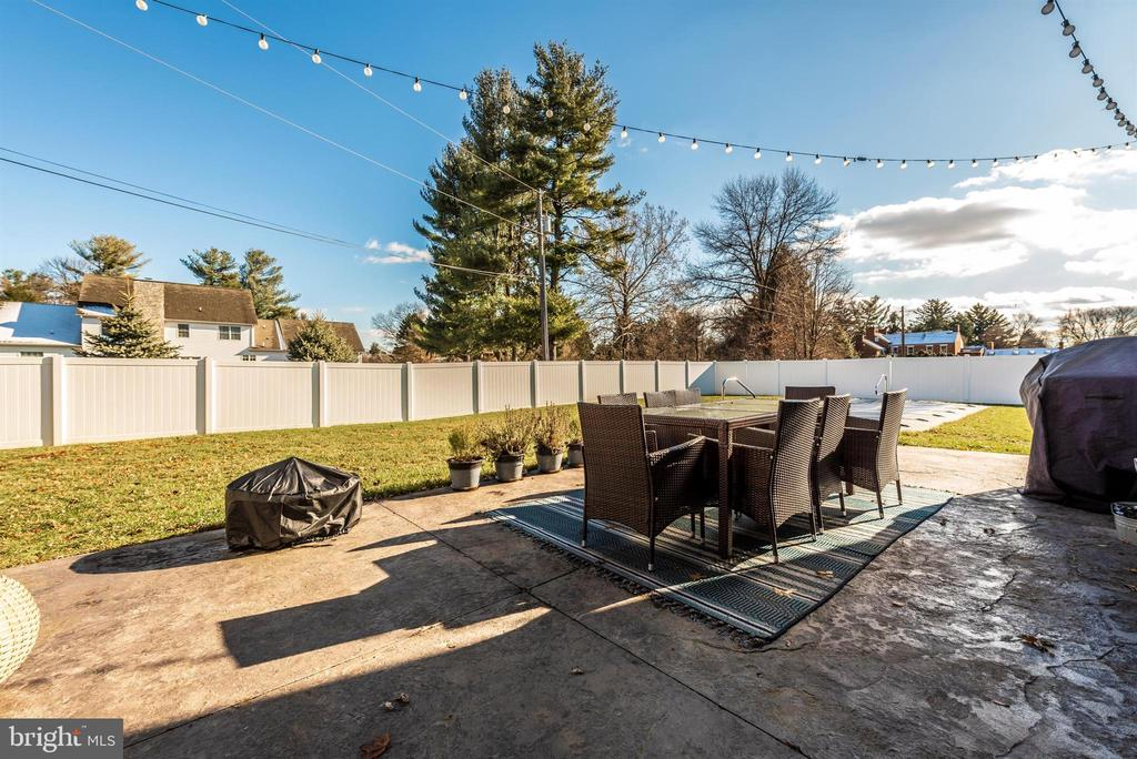 Patio-up close and personal - 7937 YELLOW SPRINGS RD, FREDERICK