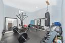Work out space...fitness is fabulous! - 7937 YELLOW SPRINGS RD, FREDERICK