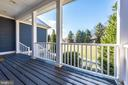 Covered front porch and the large front yard! - 7937 YELLOW SPRINGS RD, FREDERICK