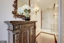 Welcoming entry - 3052 R ST NW #307, WASHINGTON