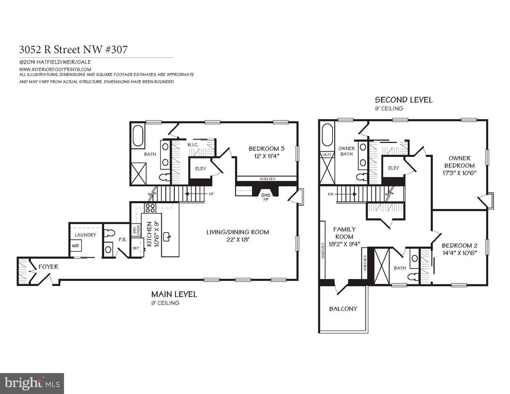 Floorplan - 3052 R ST NW #307, WASHINGTON