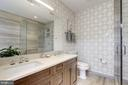 En suite full bath - 3052 R ST NW #307, WASHINGTON