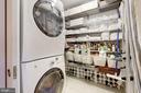 Laundry/pantry, entry level - 3052 R ST NW #307, WASHINGTON