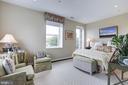 Master suite, top floor - 3052 R ST NW #307, WASHINGTON