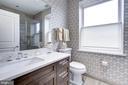 Hall full bath, top floor - 3052 R ST NW #307, WASHINGTON