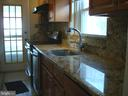 Kitchen/Granite counter top & stainless appliances - 5241 MONROE DR, SPRINGFIELD