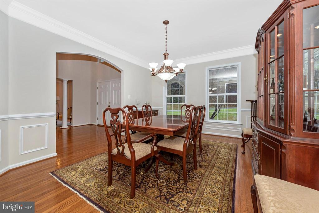 Dining Room - 8400 RIVER MEADOW DR, FREDERICK