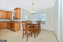 Breakfast Nook - 8400 RIVER MEADOW DR, FREDERICK