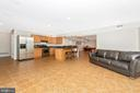 Lower Level Kitchen & Rec Room - 8400 RIVER MEADOW DR, FREDERICK