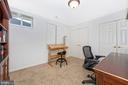 Lower Level Den/Bonus Room - 8400 RIVER MEADOW DR, FREDERICK