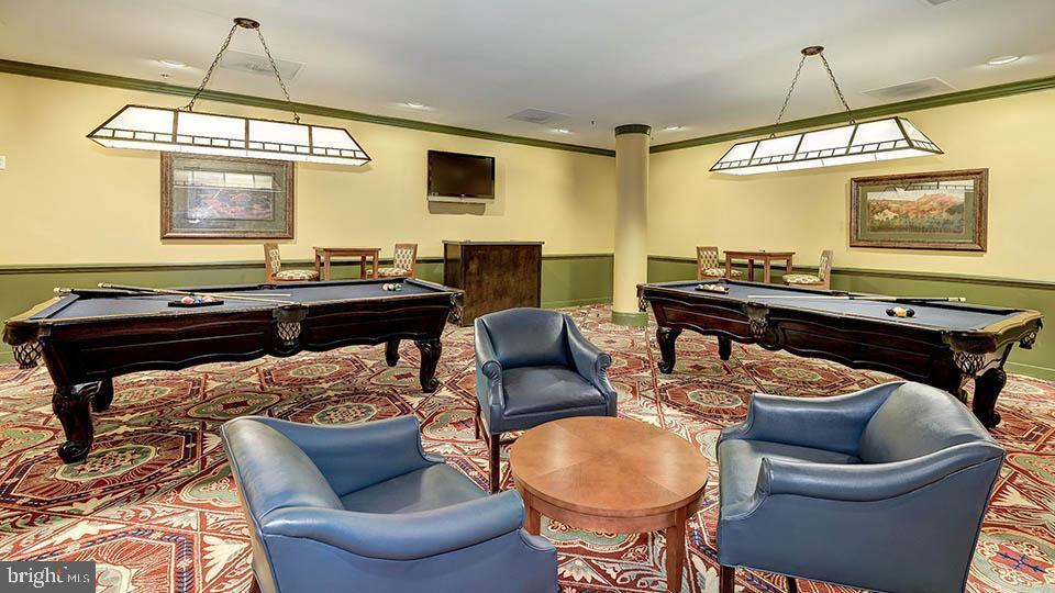 Billiard Room - 19375 CYPRESS RIDGE TER #822, LEESBURG