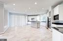 Open Kitchen for Entertaining - 1553 SHELFORD CT, VIENNA