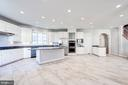 A Chef's Dream Kitchen - 1553 SHELFORD CT, VIENNA