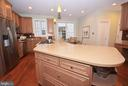 Beautiful cabinetry, recessed lighting in kitchen. - 702 PILOT HOUSE DR, ANNAPOLIS