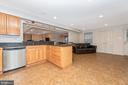 Lower Level Kitchen - 8400 RIVER MEADOW DR, FREDERICK