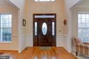 Formal entry opens to Living and Dining Rooms - 1 DRUMMERS CV, STAFFORD