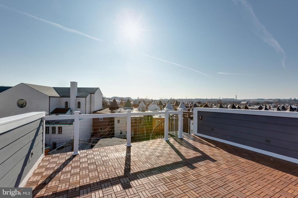 Stunning views from roof deck - 26 RHODE ISLAND AVE NW #2, WASHINGTON