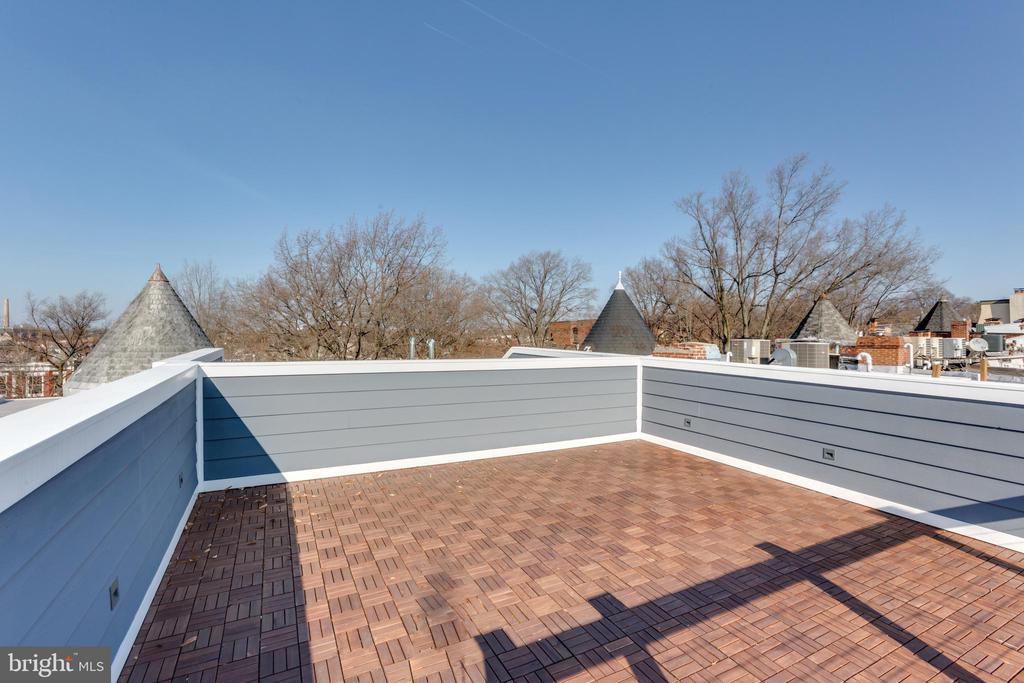 Roof deck - 26 RHODE ISLAND AVE NW #2, WASHINGTON