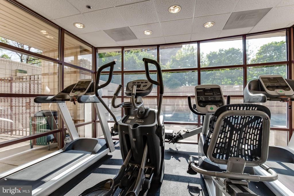 Building Gym - 2400 CLARENDON BLVD #1004, ARLINGTON