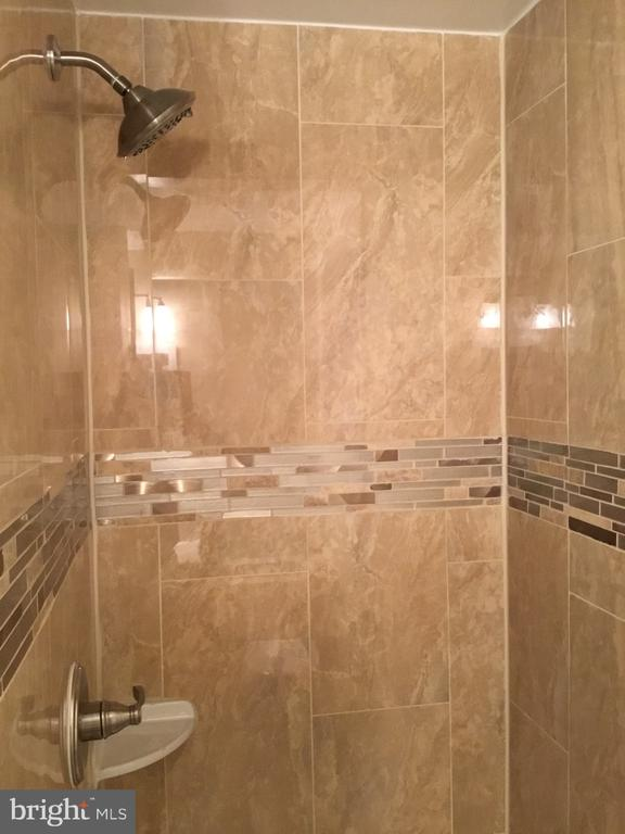 Detail basement bathroom shower - 652 ALABAMA DR, HERNDON