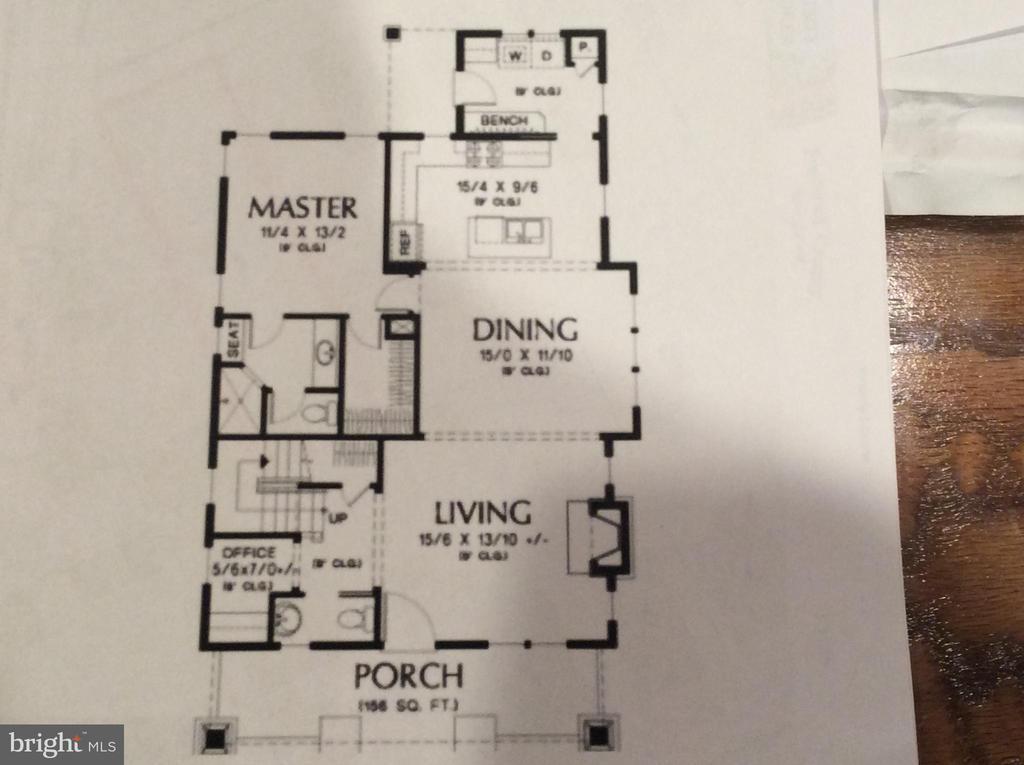 First Floor - 4230 FOXVILLE RD, SABILLASVILLE