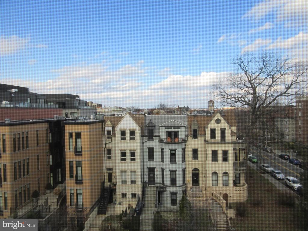 View from  2nd level - 1308 CLIFTON ST NW #401, WASHINGTON
