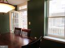 Separate dining room with balcony - 1308 CLIFTON ST NW #401, WASHINGTON