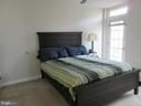 Master bedroom  on second level with balcony - 1308 CLIFTON ST NW #401, WASHINGTON