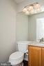 Half bath on main level - 512 GINGER SQ NE, LEESBURG