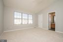 Lovely master suite with vaulted ceiling - 512 GINGER SQ NE, LEESBURG