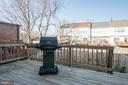 Deck for your outdoor pleasure - 512 GINGER SQ NE, LEESBURG
