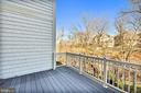 Low maintenance deck with views - 18216 CYPRESS POINT TER, LEESBURG