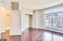 Bedroom 3- Hardwoods - 18216 CYPRESS POINT TER, LEESBURG
