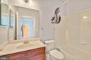 Loft Level Bathroom - 18216 CYPRESS POINT TER, LEESBURG