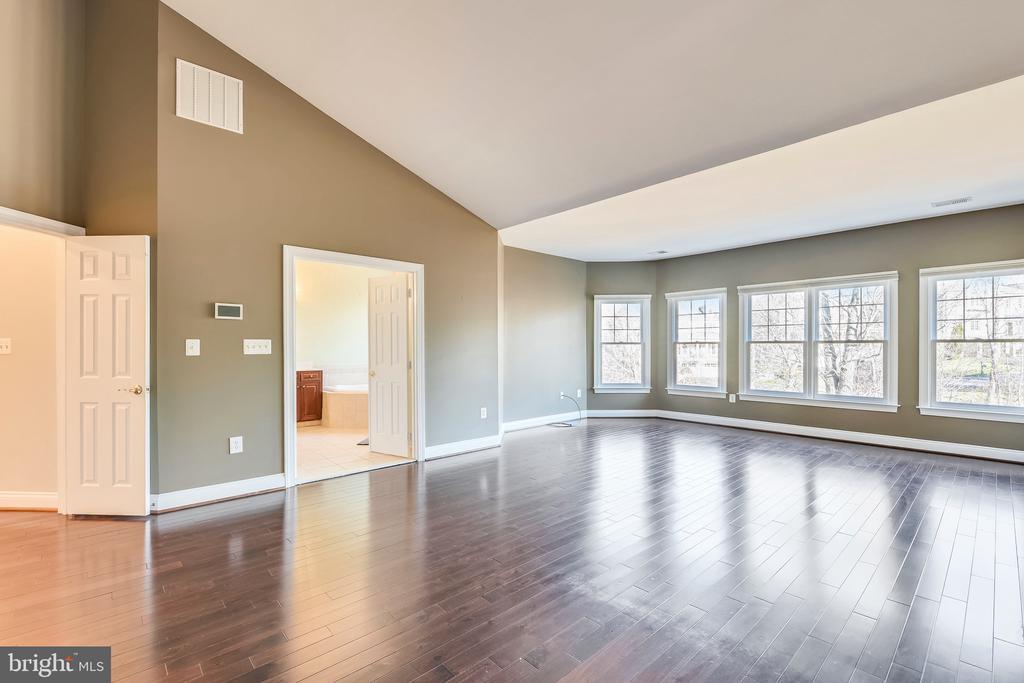 Master Bedroom- Hardwoods - 18216 CYPRESS POINT TER, LEESBURG