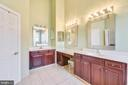 Master Bathroom - 18216 CYPRESS POINT TER, LEESBURG