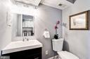 Powder room on level 1 - 1431 ANACOSTIA AVE NE, WASHINGTON