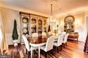 Dining Room - 16717 WHIRLAWAY CT, LEESBURG