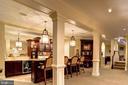 Lower Level Bar/Den - 16717 WHIRLAWAY CT, LEESBURG