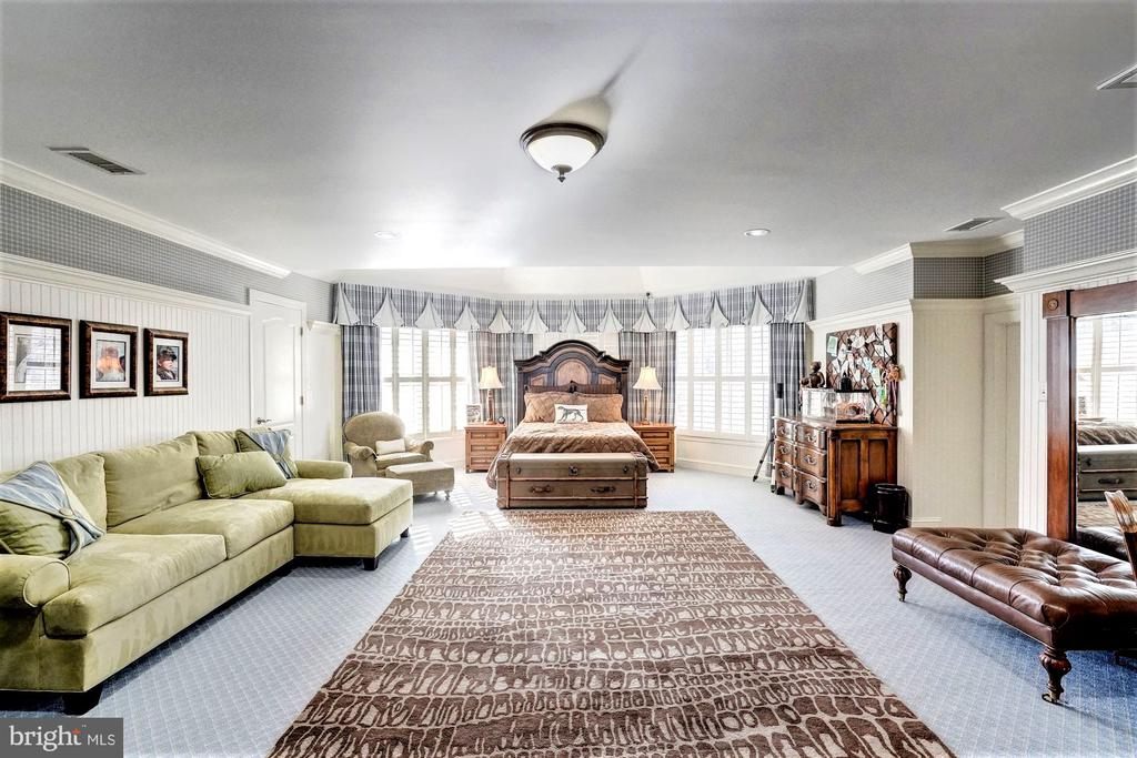 Upper Level Third Bedroom - 16717 WHIRLAWAY CT, LEESBURG