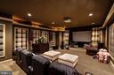Media Room - 16717 WHIRLAWAY CT, LEESBURG