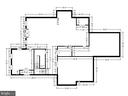 Lower Level Floor Plan with dimensions - 7306 GORDONS RD, FALLS CHURCH