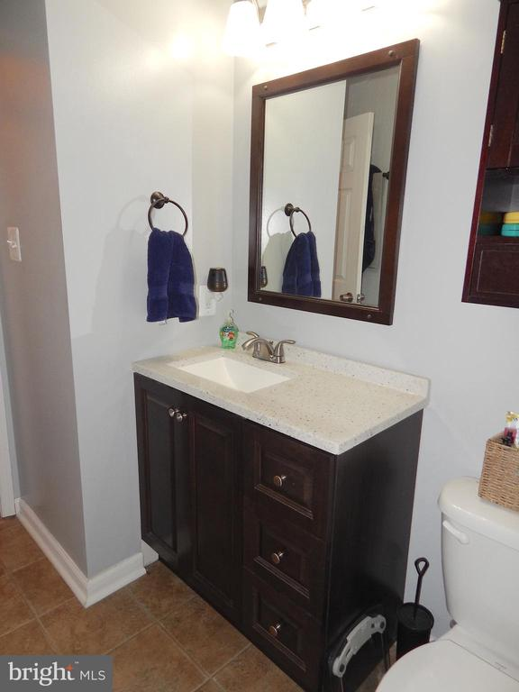 Upgraded vanity, fixtures, and lighting - 6307 TOWLES MILL RD, SPOTSYLVANIA